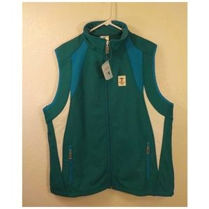 2010Vancouver Olympic Winter Game Ski Vest Green L